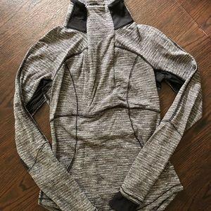 Lululemon Pattern Mock Neck Jacket
